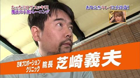 ザ・ベストハウス123 瞬間小顔矯正 芝崎プロポーションクリニック 芝崎義夫先生